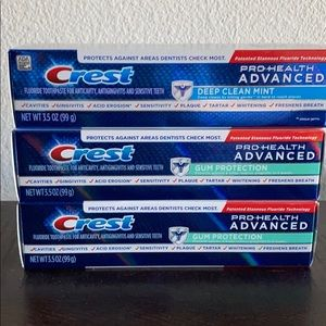 Crest toothpaste bundle